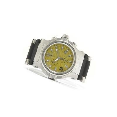 Buy Renato Men's T-Rex Stainless Steel Chronograph Rubber Strap Watch