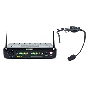 Samson AirLine 77 UHF TD Headset Wireless QV10e Microphone System