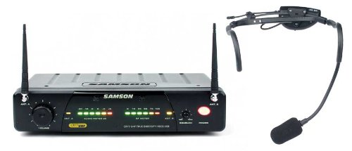 Samson Airline 77 Headset True Diversity Uhf Wireless System With Vocal Microphone (Channel N4)