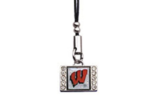 University Of Wisconsin Badgers Cell Phone Charm Accessory