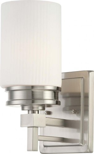 Nuvo 60/4701 Wright Brushed Nickel One Light Vanity