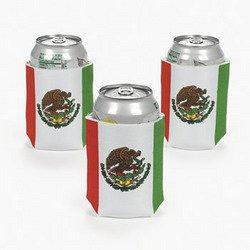 Mexican Flag Can Cover (1 Dozen) - Bulk front-997707
