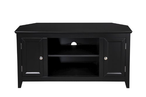 black friday simple connect 90024 42 inch corner tv stand black finish black friday deals. Black Bedroom Furniture Sets. Home Design Ideas