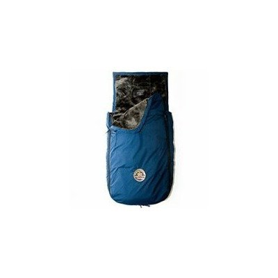 Mobile Mom Couture XL Faux Fur-Lined Weatherproof Toastie Toddler - Navy