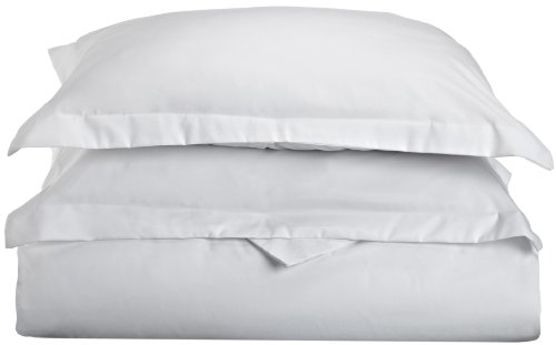 Impressions 1500 Series Wrinkle Resistant King/California King Duvet Cover 3-Pc Set Solid, White front-780286