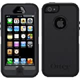 OtterBox Original Case 77-22464 for Apple iPhone 5 & 5s (Defender Series), Retail Packaging - Black