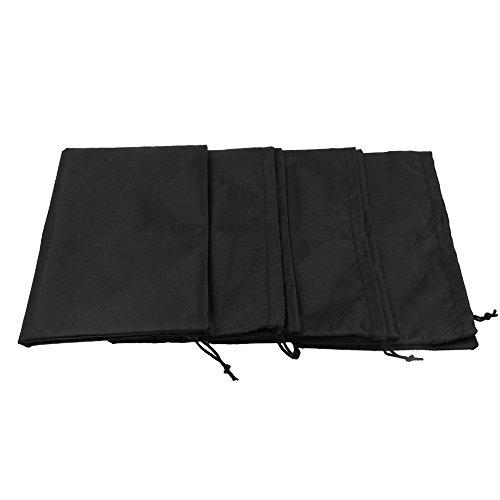 Westeng 10 Pièces Sac de Chaussure Sac Anti-poussière de Chaussure Sac à Corde Portable pour Chaussure