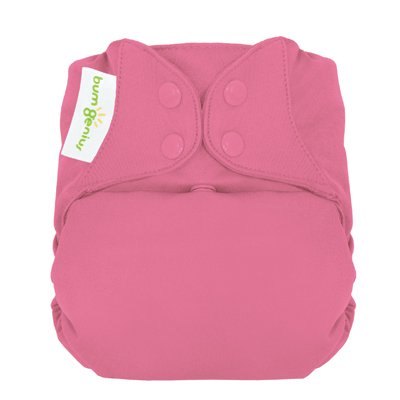 Freetime (Snap) Aio Diaper With Stay Dry Liner - Zinnia front-950800