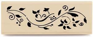 Berryvine Border - Rubber Stamps - 1