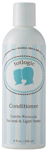 TotLogic Natural Conditioner, 8 oz, No Phthalates, No Parabens