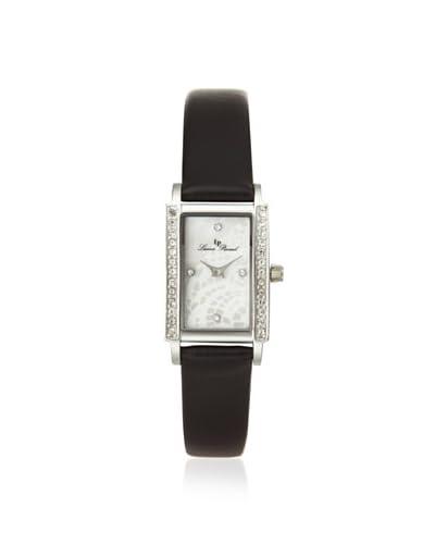 Lucien Piccard Women's 11673-02MOP-BLK Monte Baldo Crystal Black Watch