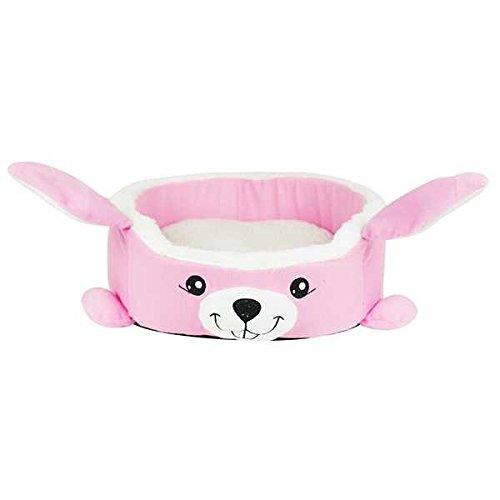 Soft Cartoon Rabbit Pet House Bed