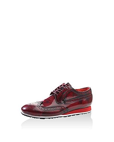 Deep Corner Zapatos de cordones 580-Bordo-40 Burdeos