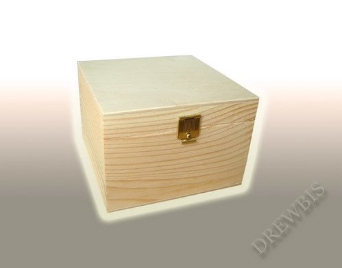 PLAIN WOOD - WOODEN TRINKET STORAGE BOX JEWELLERY - DECOUPAGE SMALL P12