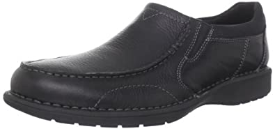 Clarks Men's Clarks Sektor 45 Slip-On,Black Oily,10.5 M US
