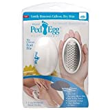 JML Ped Egg Footcare File - White