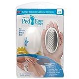 JML Ped Egg Footcare File - White