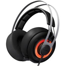 SteelSeries Siberia Elite Black Headsetゲーミングヘッドセット 51127