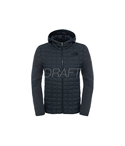The-North-Face-Herren-M-Thermoball-Gordon-Lyons-Hoodie-Fleece-Pullover-Schwarz-TnfbTnfdkgyhtr-XL