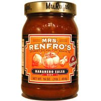 Mrs Renfros Habanero Salsa Hot -- 16 Oz by Mrs. Renfro's