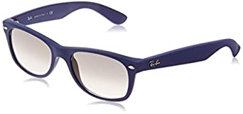 Ray-Ban Men's 0rb2132 New Wayfarer Rectangular Sunglasses, Blue