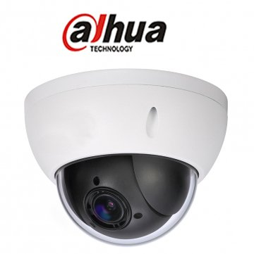 "Dahua IP Mini PTZ SD22204T-GN 2mp 1080p 4"" Outdoor Vandal Dome, True WDR, 4x Optical Zoom"