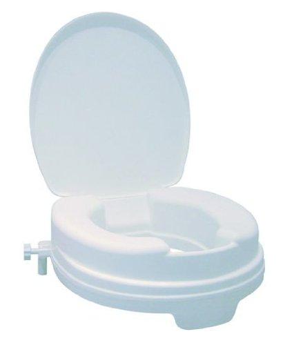 Toilettensitzerhöher, Relaxon Basic, mit Deckel, Sitzerhöhung WC vom Stock-Fachmann