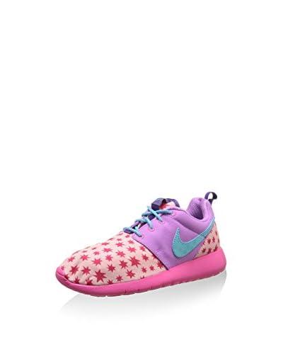 Nike Sneaker Roshe One Print (Gs) rosa