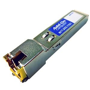 AddOn  Network Upgrades TAA/Cisco/MSA Compliant GLCT 1000BaseTX SFP Picture