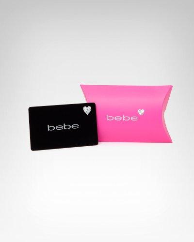 Bebe bebe Black Gift Card Black Size $200