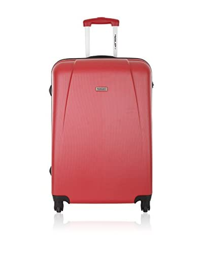 Travel One Trolley Rigido Rainbow   55  cm [Rosso]