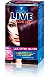 Schwarzkopf Live Unlimited Gloss 888 Damson Wine