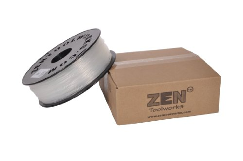Zen Toolworks 3D Printer 1.75mm Translucent ABS Filament 1kg (2.2lbs) Spool
