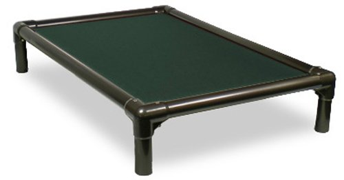 Kuranda Walnut Pvc Chewproof Dog Bed - Medium (35X23) - Cordura - Forest Green