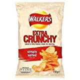 Walkers Extra Crunchy Simply Salted Crisps 150G