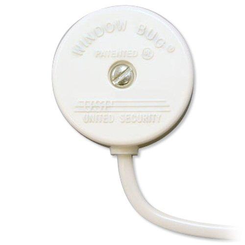 USP Window Bug Glass Break Sensor, White (724-White)