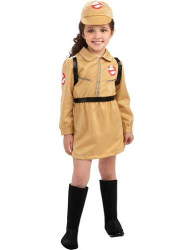 Ghostbusters Girl Sm Kids Girls Costume