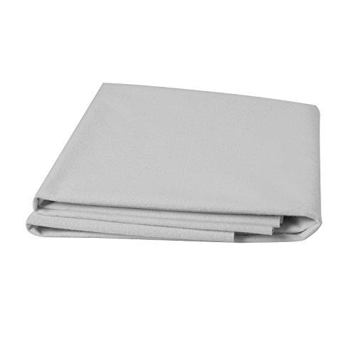 Dmi Waterproof Flannel Rubber Sheet Protector White 36 X