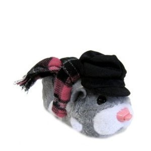 Zhu Zhu Pets Hamster Outfit Winter Scarf Hat by Cepia - 1