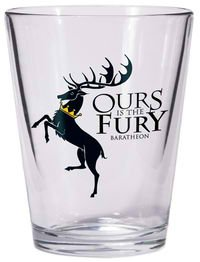 Dark Horse Deluxe Game of Thrones Shot Glass: Baratheon Sigil - 1