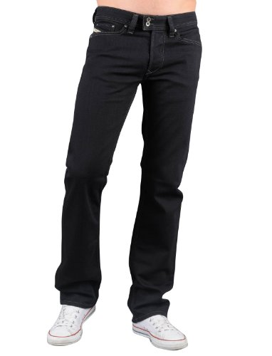 Diesel Viker-r-box 8y8 Straight Black Man Jeans Men - W38l32
