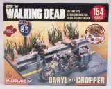 McFarlane Toys Building Sets -The Walking Dead TV Daryl Dixon with Chopper Building Set by McFarlane Toys by McFarlane Toys