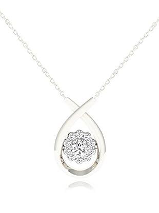 Friendly Diamonds Conjunto de cadena y colgante FDP12290W Oro Blanco