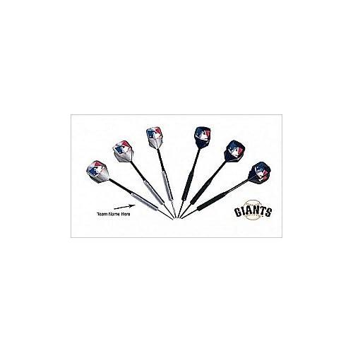 MLB San Francisco Giants Darts and Flights Set