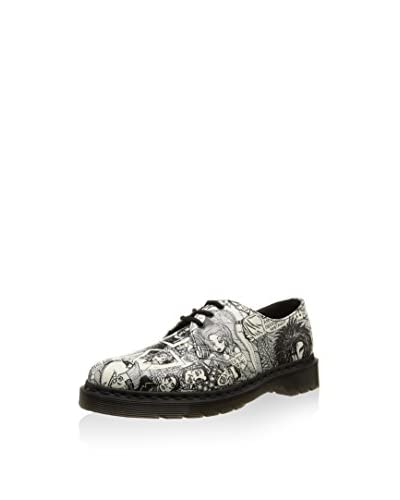 Dr. Martens Derby 1461 Print Blk+Wht Party Peopl