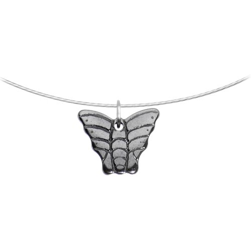 Hemalyke Butterfly Choker Necklace