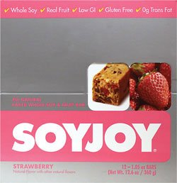 Soyjoy Bar Strawberry 1.06-Ounce (12 Pack)