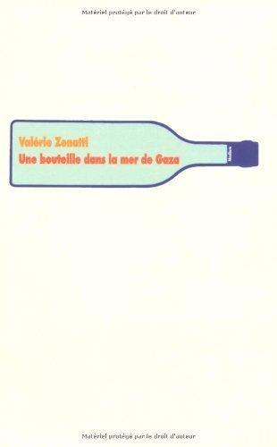 Une bouteille dans la mer de Gaza de Valérie Zennati