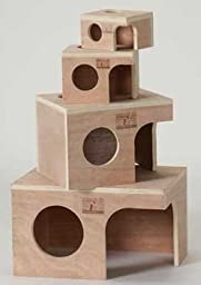 Prevue Pet Products SPV1121 Wooden Hideout Hamster Hut