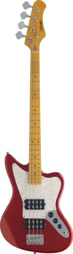 """Stagg Bm370-Mrd 4-String """"M"""" Style Electric Bass Guitar"""
